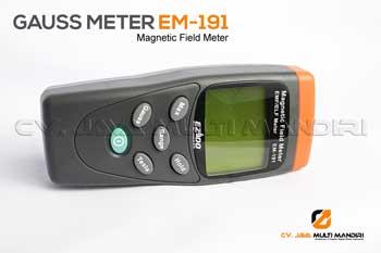 Gaussmeter adalah suatu alat untuk mengukur rapat fluk magnet (B)