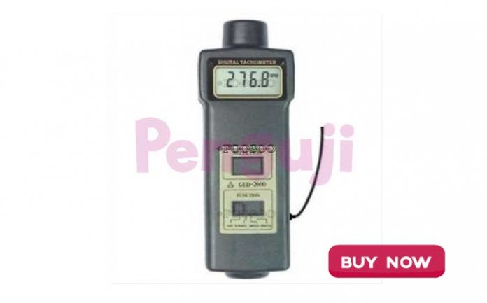 Alat Ukur Kecepatan Mekanik Laser Tachometer GED2600