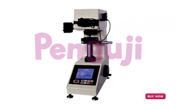 Alat Ukur Kekerasan Digital Micro Vickers AMTAST TH714