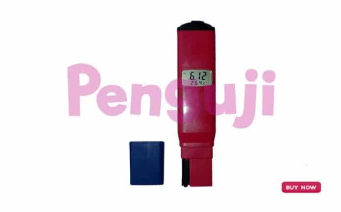 Alat pH Meter Akurasi Tinggi dengan Probe Diganti KL-081