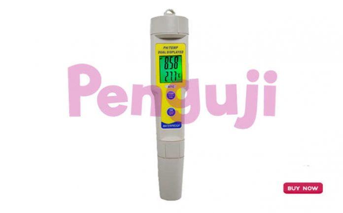 Alat pH dan Suhu Meter Waterproof KL-035Z2
