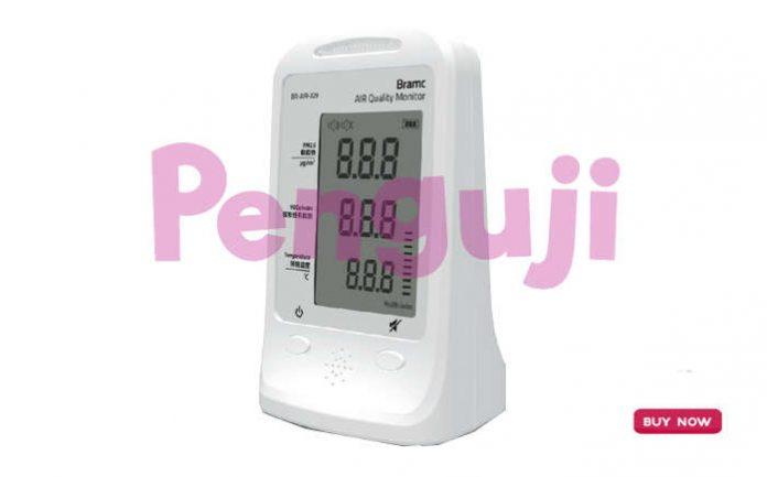 Alat Air Quality Detector PM2.5 VOC Home/Car BR-AIR-329
