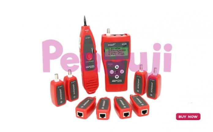 Alat Pengukur Kabel Audio NF-388
