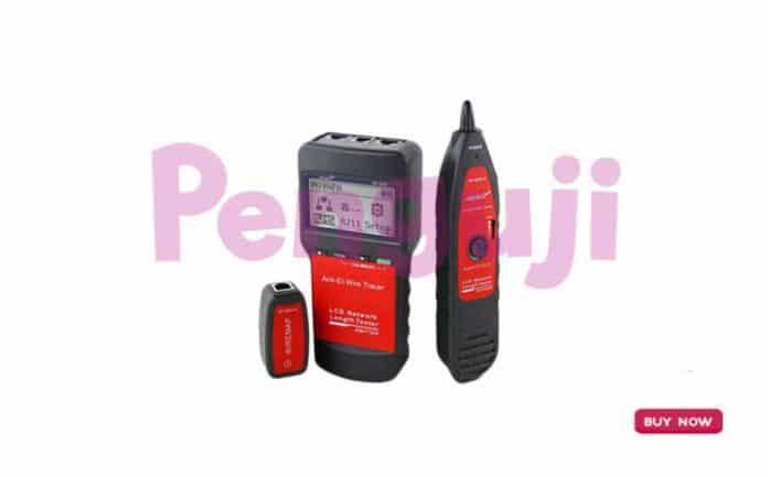 Alat Pengukur Kabel Jaringan Telepon NF-8200