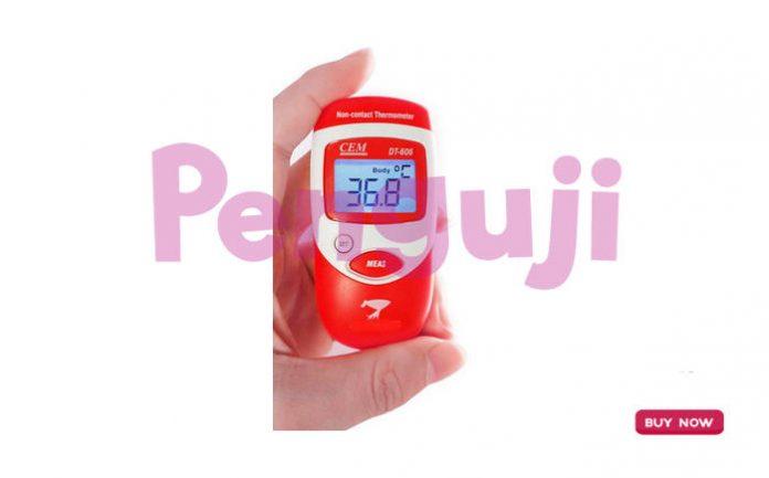 Termometer Inframerah DT606